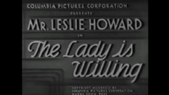 The Lady Is Willing 1934 DVD - Leslie Howard / Cedric Hardwicke